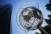 Globe Sculpture Trump Hotel New York City NY