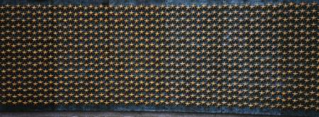Star mounted on the wall of a war memorial Freedo
