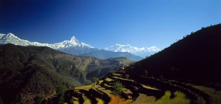 Annapurna Mountains Nepal