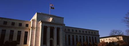 Facade of a government building Federal Reserve B