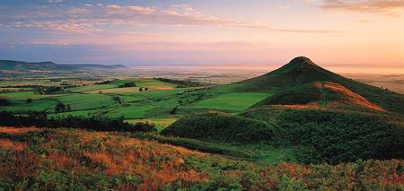 Roseberry Topping North Yorkshire England