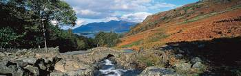 Ashness Bridge Cumbria The Lake District England