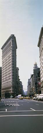 Low angle view of an office building Flatiron Bui