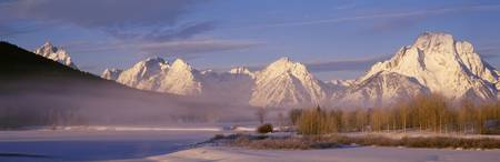 Winter Grand Teton National Park WY