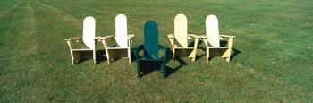 Lawn Chairs at Middlebury College