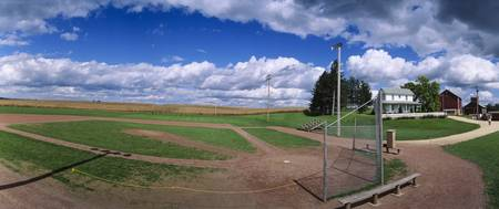 Farm Baseball Diamond Dyersville IA