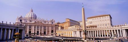 Vatican St Peters Square Rome Italy