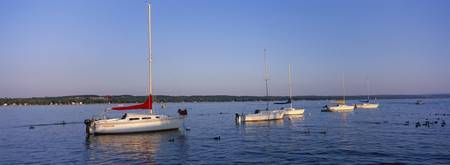 Sailboats on Canandaigua Lake Canandaigua NY