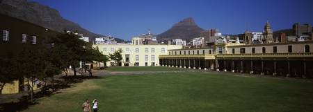 Courtyard of a castle Castle of Good Hope Cape To
