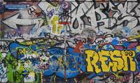 Grafitti on the U2 Wall