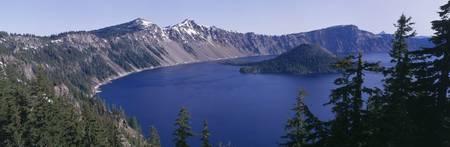 Wizard Island Crater Lake National Park OR