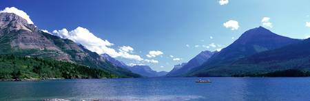 Canoeing Waterton Lake Waterton Glacier National