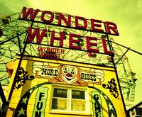 Entrance to the Wonder Wheel