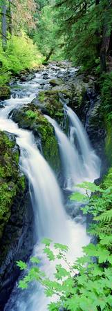 Sol Duc Falls Olympic National Park WA