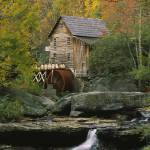"""Glade Creek Grist Mill, Babcock State Park"" by Panoramic_Images"
