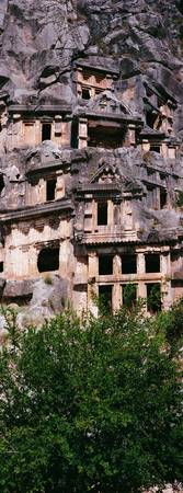 Lycien Tombs Myra Turkey