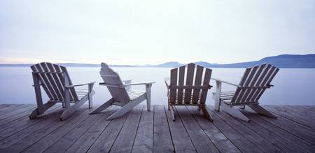 Lounge Chairs Moosehead Lake ME