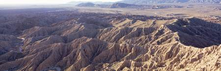 View fr Fonts Point Anza Borrego Desert State Par