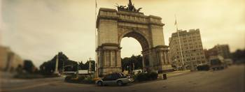 War memorial Soldiers And Sailors Memorial Arch P