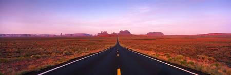 Road Monument Valley UT
