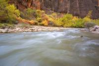 Rushing Water Of Virgin River