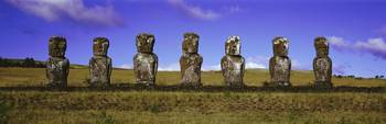 Moai Easter Island Chile