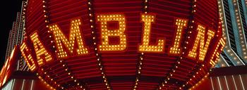 Gambling Sign Las Vegas NV