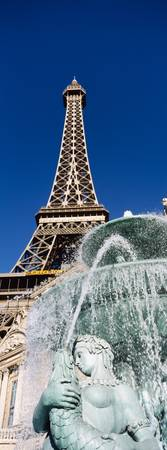 Fountain Eiffel Tower Las Vegas NV