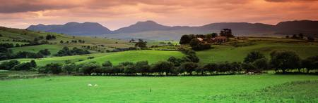 Cumbrian Mountains Snowdonia National Park Wales