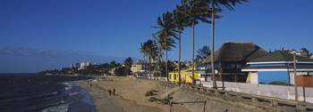 Buildings along the beach