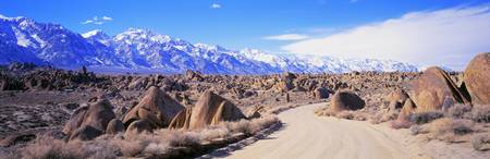 Dirt Road Owens Valley CA
