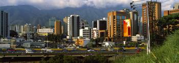Buildings in a city Caracas Venezuela
