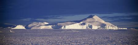 Iceberg and snowfield Kloa Point Antarctica