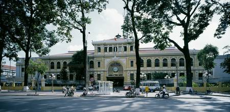 Post Office Ho Chi Minh City Vietnam