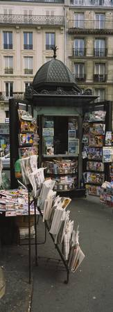 Newsstand on a street