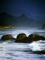 View Of Storm Over Cannon Beach From Ecola State