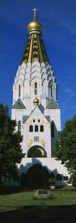 St Alexei Russian Memorial Church Leipzig Germany