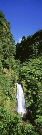 Mother Falls at Trafalgar Falls Dominica
