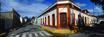 Buildings along a street Carupano Sucre State Ven