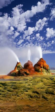 Geyser Black Rock Desert NV