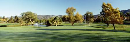 Golf course Silverado Country Club CA USA