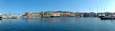 Port at the hillside St. Tropez Var Provence Alpe