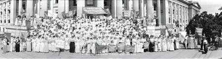 Suffrage Women Washington DC