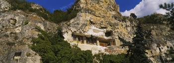 Monastery in a mountain