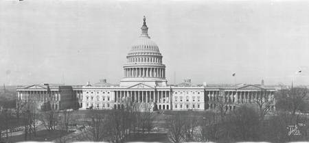 US Capitol Washington DC 1916