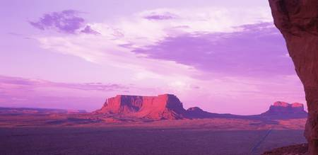 Sunset Rim Monument Valley AZ