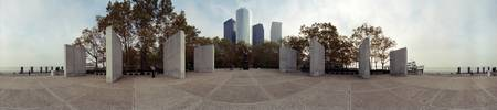360 degree view of a war memorial East Coast Memo