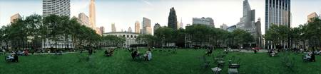 360 degree view of a public park Bryant Park Manh