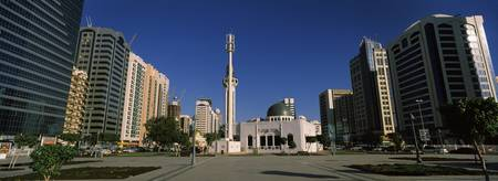 Mosque in a city Sheikh Rashid Bin Saeed Al Makto