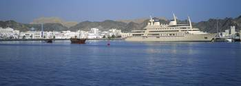 City at the waterfront Muttrah Muscat Oman